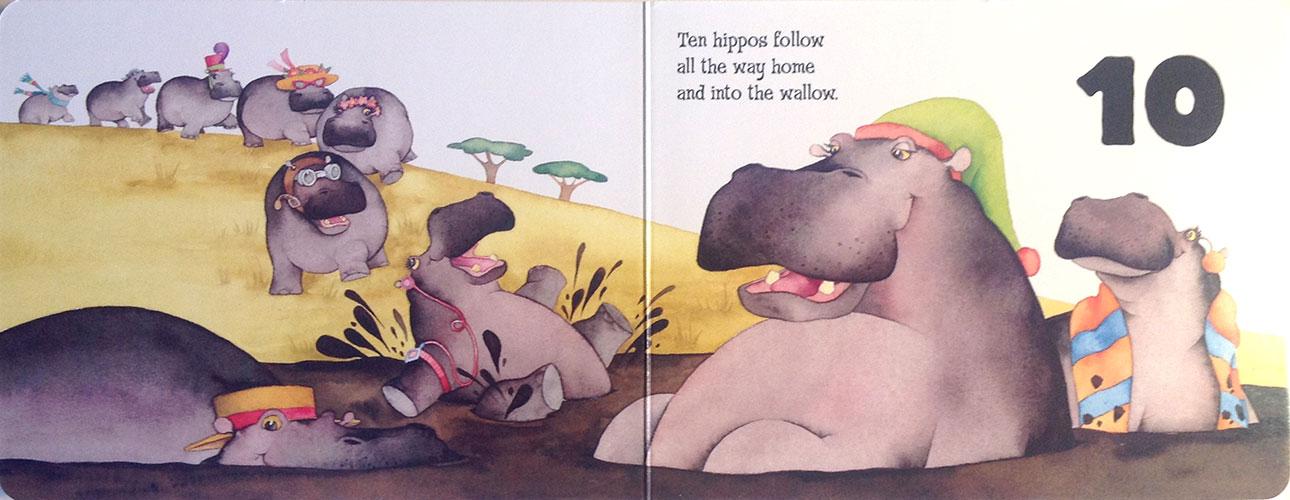 10-hippos