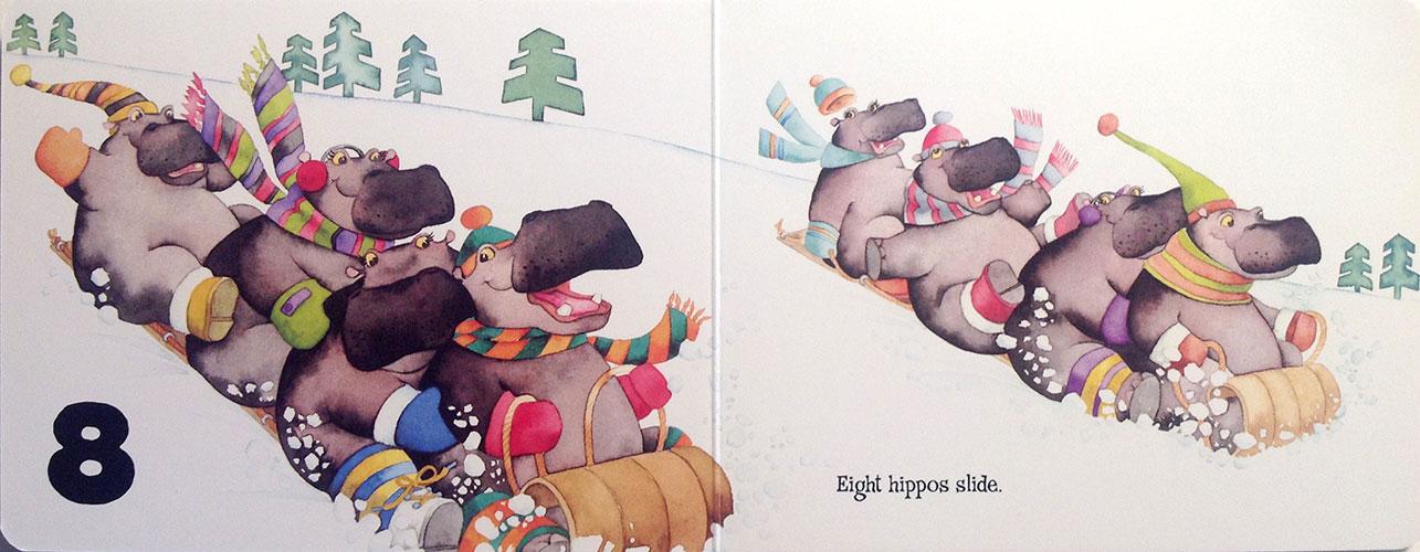 8-hippos